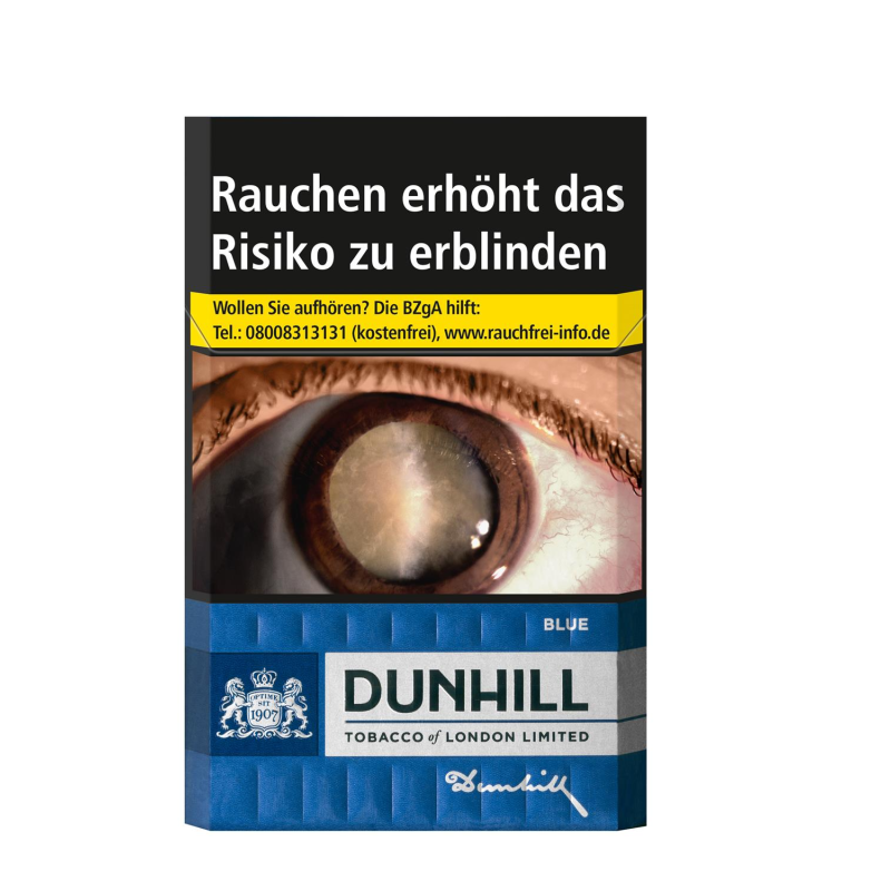 DUNHILL Blue 7,-  (10x20)