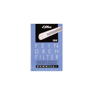 EFKA FEINDREHFILTER (blau) Inhalt10 x 100 Filter